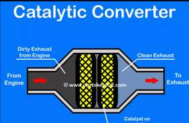 Exhaust catylic converters bought for cash