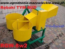RGW.100-8w2 , Rębak do gałęzi na 2 worki , grubość ciętych gałęzi 8cm