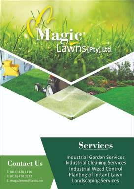 Garden, Cleaning and Weed Control Services