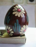 Пасхальное яйцо деревянное расписное