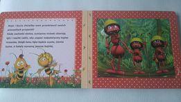 Pszczółka Maja książka z puzzlami
