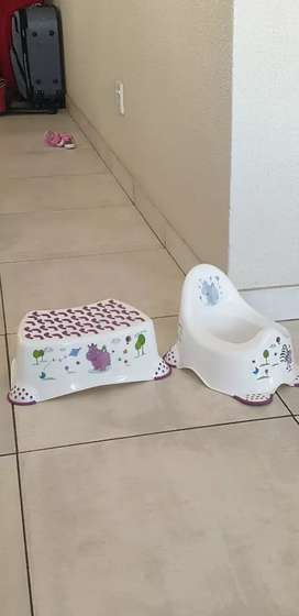 Heather 2 bar chairs microwave potty training kit baby bottle disinfec