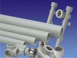 труба пластиковая (отопление, водопровод)