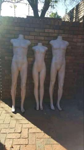 Selling 3 mannequins