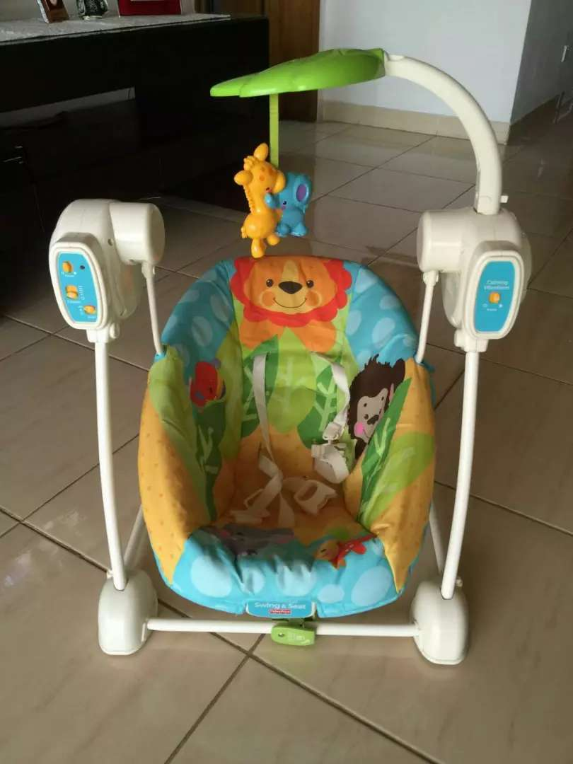 Fisher price baby 2 in 1 swing and sit 0