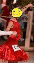 Бейсик на 3-6 лет рост 104-116 платье для танцев бейзик танцевальное