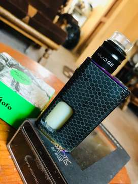Wismec Luxotic Vape with a Nudge Rda