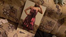 Платье сарафан без брителек 152-158 Космос