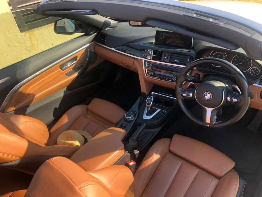 Immaculate BMW 428i Convertible Luxury Line A/T 2015 model 0