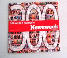newsweek polska CD 300 wydań 2001 do 2007