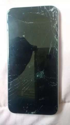 With a broken screen, good condition LCD