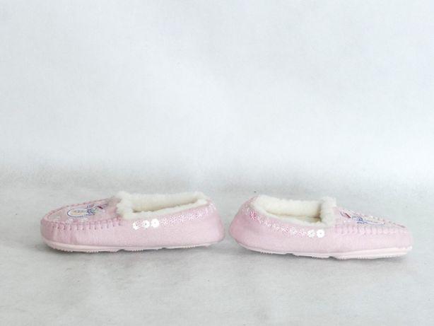 M&S NOWE kapcie dla dziewczynki kożuszek 23 14,5 cm Lubaczów - image 6