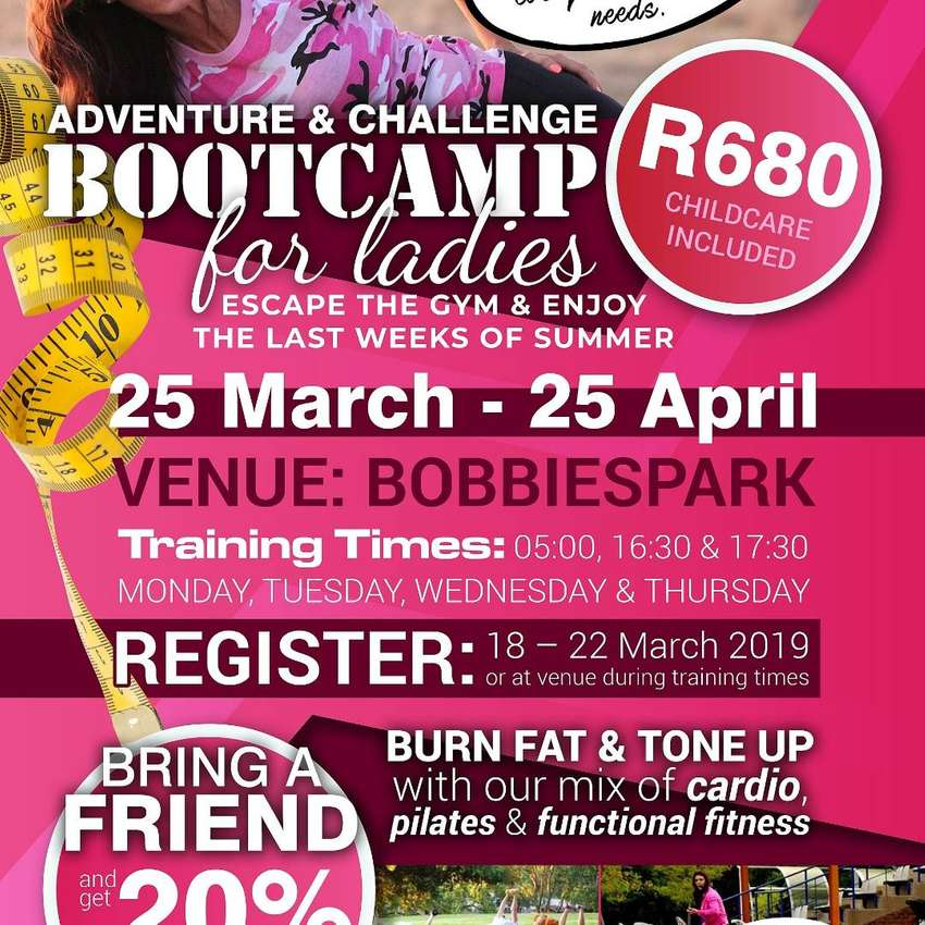 Bootcamp for women 0