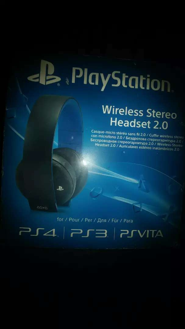 Ps4 console headphone 0