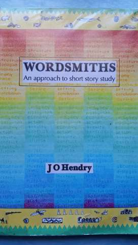Wordsmiths - J O Hendry book for sale