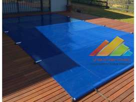 Solid PVC Safety Pole Pool Covers