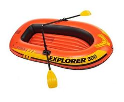 Надувная двухместная лодка Intex 58332 до 120 кг