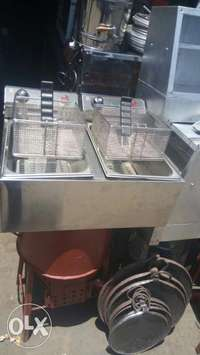 Imported double electrical chips fryer 0