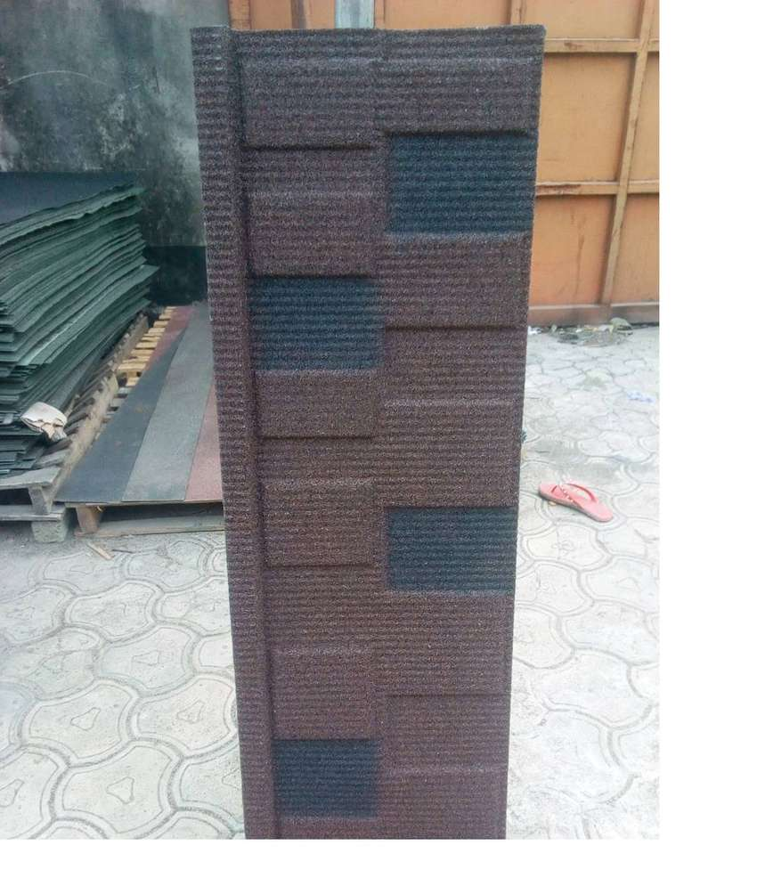 Hello Hi Quality Solid STONE COATED Roofing Sheet 0