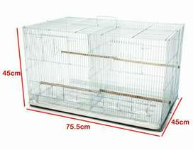 Large Flight bird / rabbit cage ( with removal middle divider)