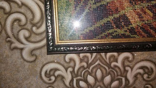 Катина из бисера ручная работа вышивка фото рамка на стену Кривой Рог - изображение 3