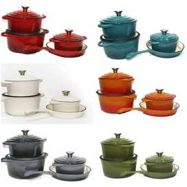 7pc Cast Iron Cookware Set