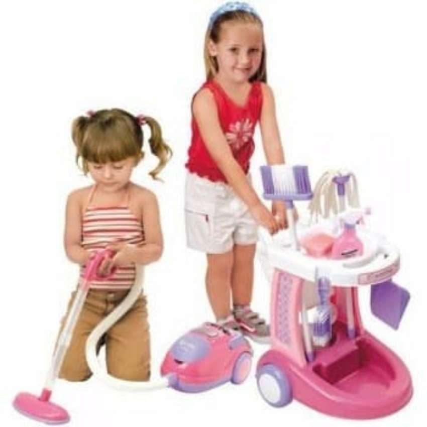 My Cleaning Trolley Set with Hand Vacuum Cleaner 0