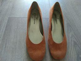 Туфли женские замша 37 размер б/у