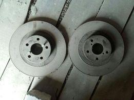 Срочно продам диски тормозные задние на субару форестер.