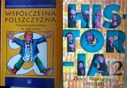 Zestaw podręczników Historia i Język polski