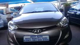 2013 Hyundai i-20 1,4 Engine Capacity with Manuel Transmission,