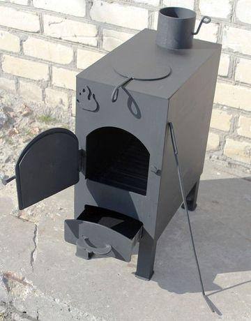 """Буржуйка """"Огонь"""" с конфоркой (сталь 4мм) для дачи. Есть в наличии Днепр - изображение 4"""