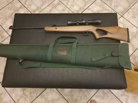 Pellet Gun - Air rifle with scope