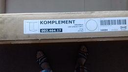 KOMPLEMENT Przegroda do ram, biały, 100x58 cm