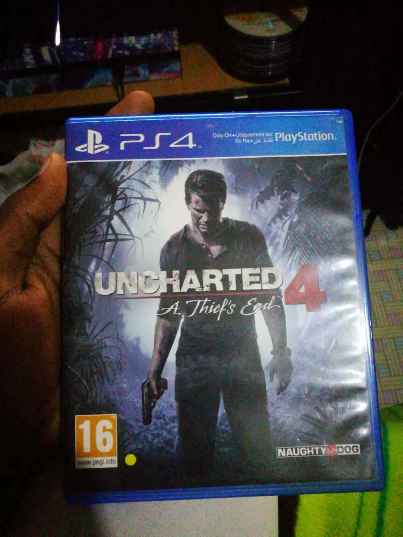 Ps4 uncharted 4 a thief's end 0
