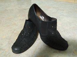 """Туфли женские кожаные черные """"WELFARE"""" Размер 39"""