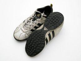 Skórzane buty do piłki turfy Adidas rozmiar 38