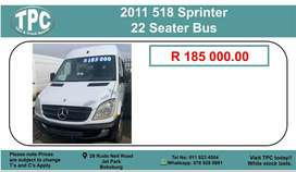 518 Sprinter 22 Seater Bus For Sale.