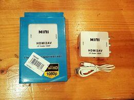Продам абсолютно новый конвертер из HDMI в AV (RCA), 1080p