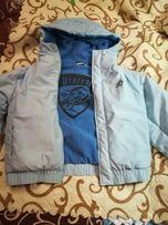 Куртка утепленная подкладка флис,