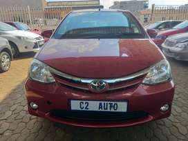 Pre-owned 2016 Toyota Etios 1.5