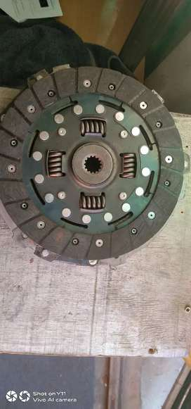 Clutch and pressure plates
