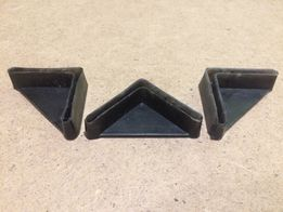 Пластикові заглушки для металевих стелажів