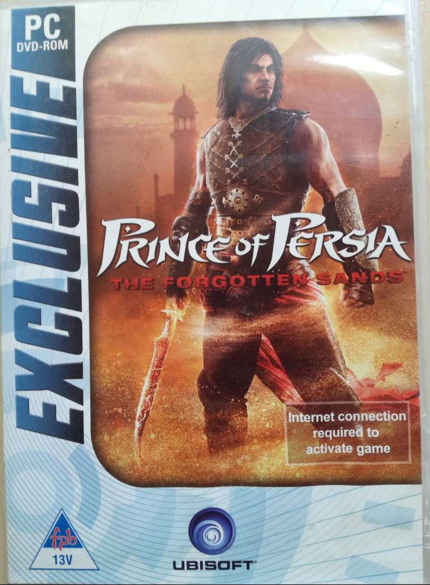 PC DVD ROM GAME PRINCE OF PERSIA: THE FORGOTTEN SANDS 0