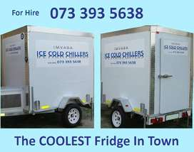 Mobile Fridge Chiller Hire East London and King Williams Town