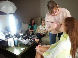 Kurs, instruktaż makijażu z możliwością dojazdu do Klientki