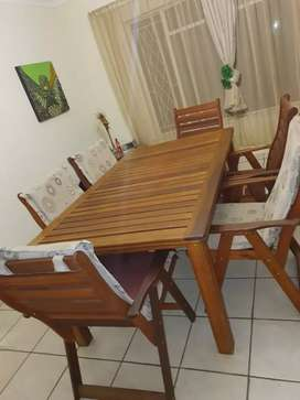 Wooden patio for sale