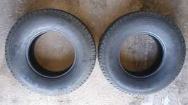 2 x General Grabber TR and 3 x Windforce Catchfors AT tyres