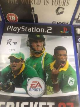 PS2 Game Cricket 2007