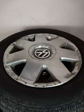 Rim and tires size 14